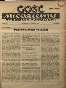 Gość Niedzielny, 1948, R. 21, nr38