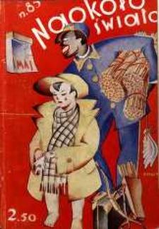 Naokoło Świata, 1931, nr85