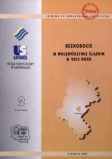 Bezrobocie w Województwie Śląskim w 2002, R. 12, nr 2