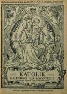 Katolik. Kalendarz Dla Wszystkich na rok 1926. R. 56