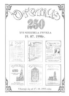 Oremus, R. 5, nr 29 (250), 1998