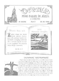 Oremus, R. 5, nr 38 (259), 1998
