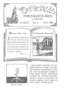Oremus, R. 5, nr 49 (270), 1998