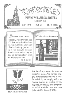 Oremus, R. 5, nr 51 (272), 1998