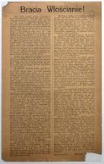 Bracia Włościanie! W styczniu 1915 r. Związek Chłopski
