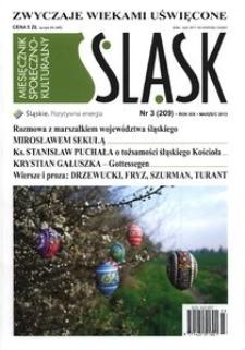 Śląsk, 2013, R. 19, nr 3
