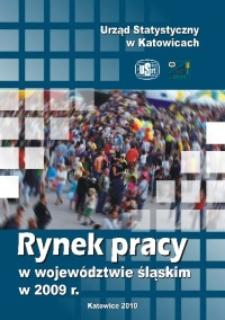 Rynek pracy w województwie śląskim w 2009 r.