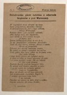 Wiersze Bolesne. No 1. Dziadowska pieśń żałobna o odwrocie Legjonów z pod Warszawy
