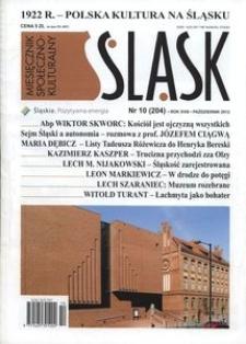 Śląsk, 2012, R. 18, nr 10