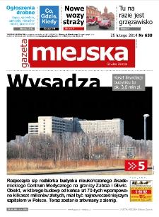 Gazeta Miejska Gliwice Zabrze, nr 658, 2014