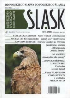 Śląsk, 2012, R. 18, nr 5