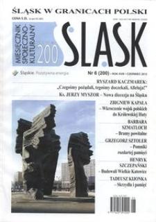 Śląsk, 2012, R. 18, nr 6