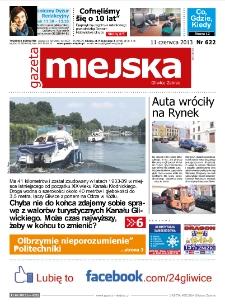 Gazeta Miejska Gliwice Zabrze, nr 622, 2013