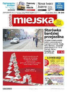 Gazeta Miejska Gliwice Zabrze, nr 649, 2013