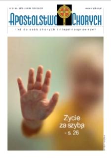 Apostolstwo Chorych, R. 84, nr 5, 2013