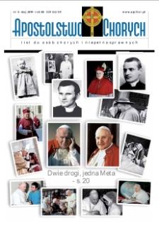 Apostolstwo Chorych, 2014, R. 85, nr 5