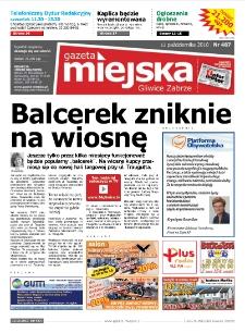 Gazeta Miejska Gliwice Zabrze, nr 487, 2010