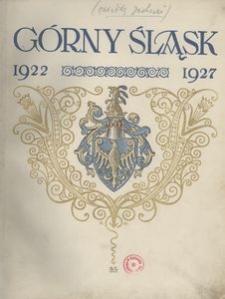 Dzieje pracy Górnego Śląska 1922-1927