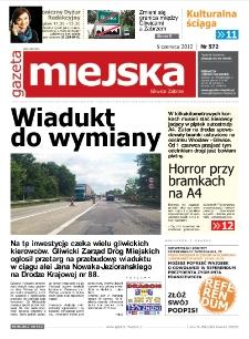 Gazeta Miejska Gliwice Zabrze, nr 572, 2012