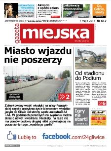 Gazeta Miejska Gliwice Zabrze, nr 617, 2013