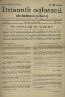 Dziennik Ogłoszeń Dla Ludności Polskiej, 1942, nr 22