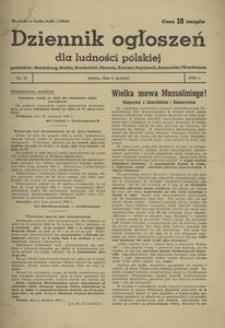 Dziennik Ogłoszeń Dla Ludności Polskiej, 1942, nr 37