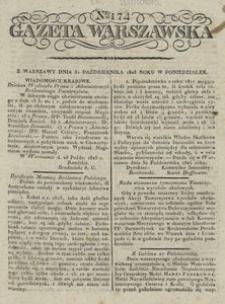 Gazeta Warszawska 1825, nr 174