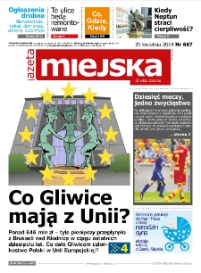 Gazeta Miejska Gliwice Zabrze, nr 667, 2014