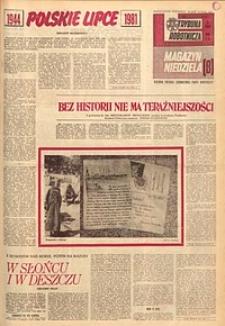 Trybuna Robotnicza. Magazyn Niedziela, 1981, nr147
