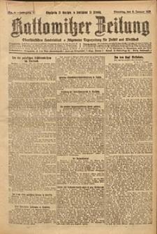 Kattowitzer Zeitung, 1925, Jg. 57, nr4