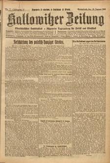Kattowitzer Zeitung, 1925, Jg. 57, nr7