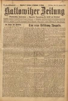 Kattowitzer Zeitung, 1925, Jg. 57, nr12