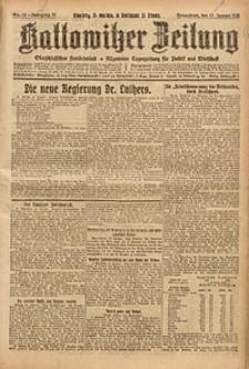 Kattowitzer Zeitung, 1925, Jg. 57, nr13