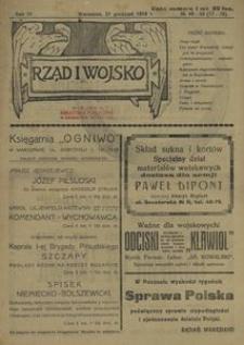 Rząd i Wojsko 1919, nr 48/49