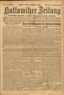 Kattowitzer Zeitung, 1925, Jg. 57, nr32