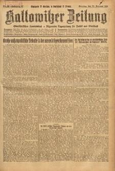 Kattowitzer Zeitung, 1925, Jg. 57, nr43