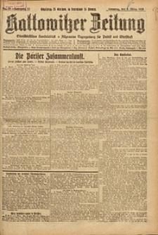 Kattowitzer Zeitung, 1925, Jg. 57, nr55