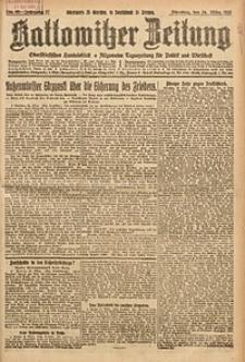 Kattowitzer Zeitung, 1925, Jg. 57, nr68