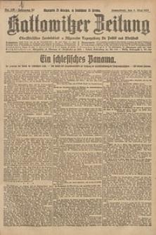 Kattowitzer Zeitung, 1925, Jg. 57, nr105
