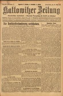 Kattowitzer Zeitung, 1925, Jg. 57, nr111