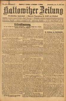 Kattowitzer Zeitung, 1925, Jg. 57, nr116