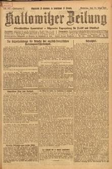 Kattowitzer Zeitung, 1925, Jg. 57, nr117