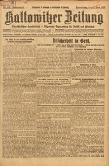 Kattowitzer Zeitung, 1925, Jg. 57, nr131