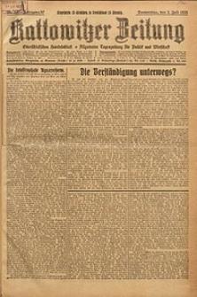 Kattowitzer Zeitung, 1925, Jg. 57, nr147