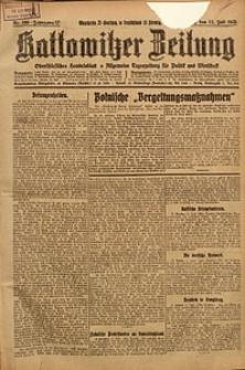 Kattowitzer Zeitung, 1925, Jg. 57, nr156