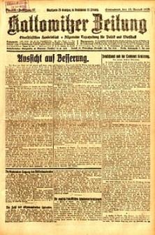 Kattowitzer Zeitung, 1925, Jg. 57, nr185