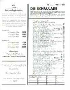 Die Schaulade : Europa - Journal für Porzellan, Keramik, Glas, Hausrat. Jg. 13, h. 9/B.