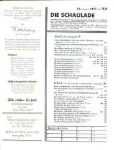 Die Schaulade : Europa - Journal für Porzellan, Keramik, Glas, Hausrat. Jg. 13, h. 11/B.