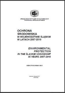 Ochrona środowiska w województwie śląskim w latach 2007-2010