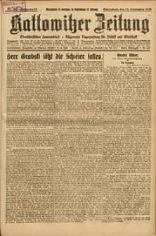 Kattowitzer Zeitung, 1925, Jg. 57, nr208